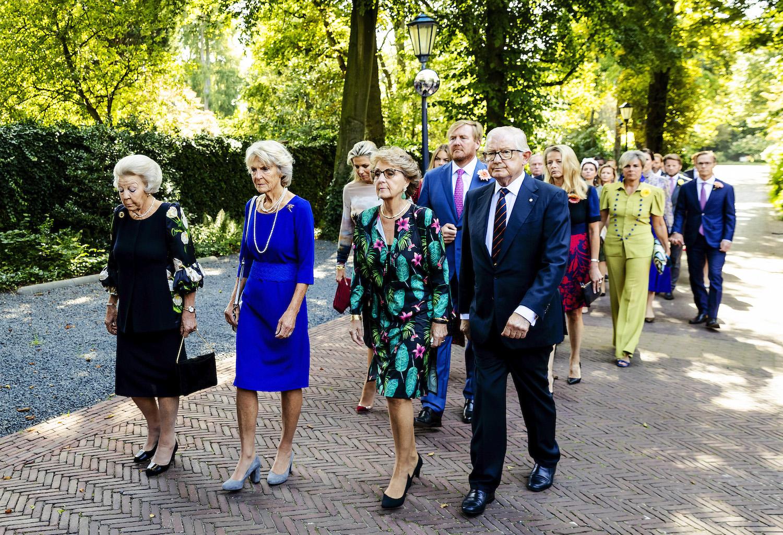 Prinses Beatrix, prinses Irene, prinses Margriet en Pieter van Vollenhoven