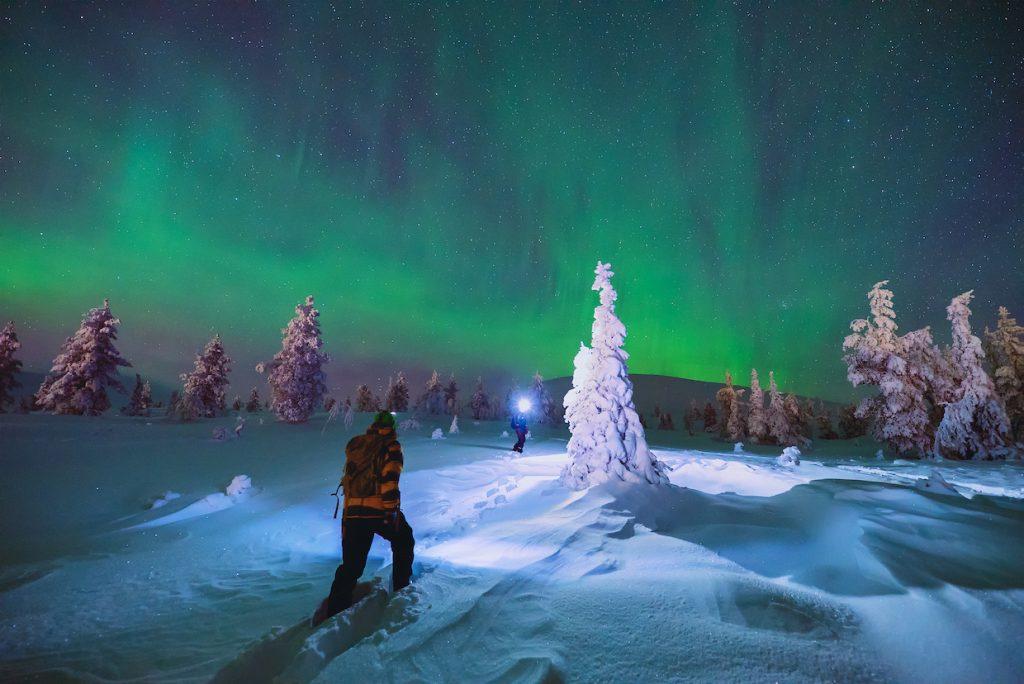 Buro Scandit Noorderlicht in Fins Lapland
