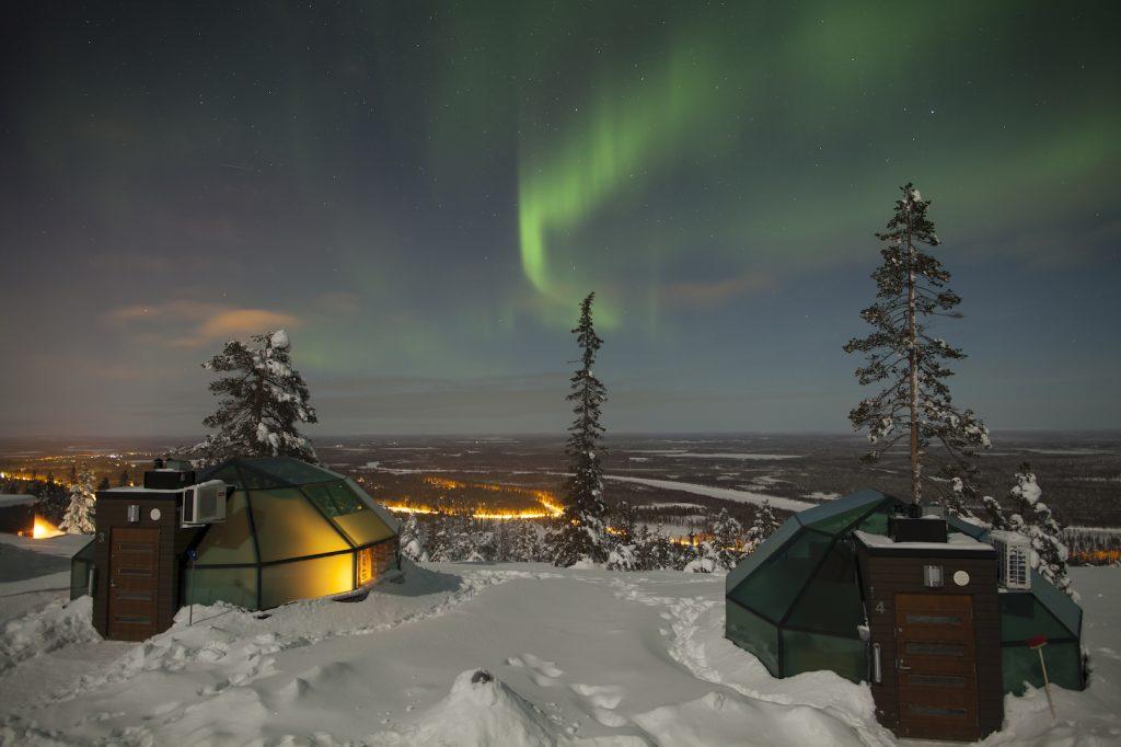 Bijzondere overnachting in Lapland - Buro Scandit