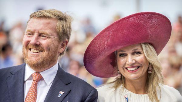 Koning Willem-Alexander met baard