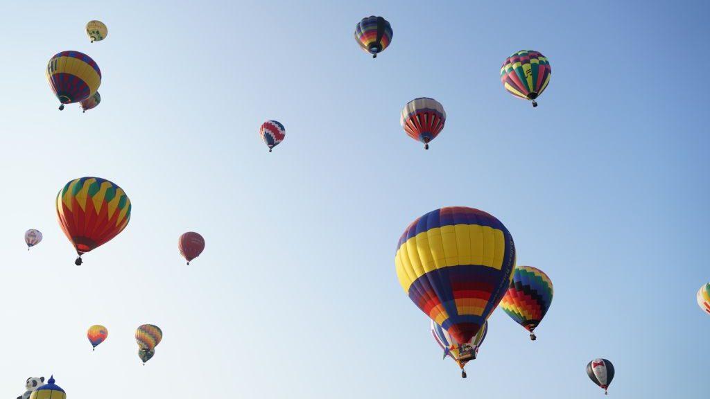 luchtballon noodlanding