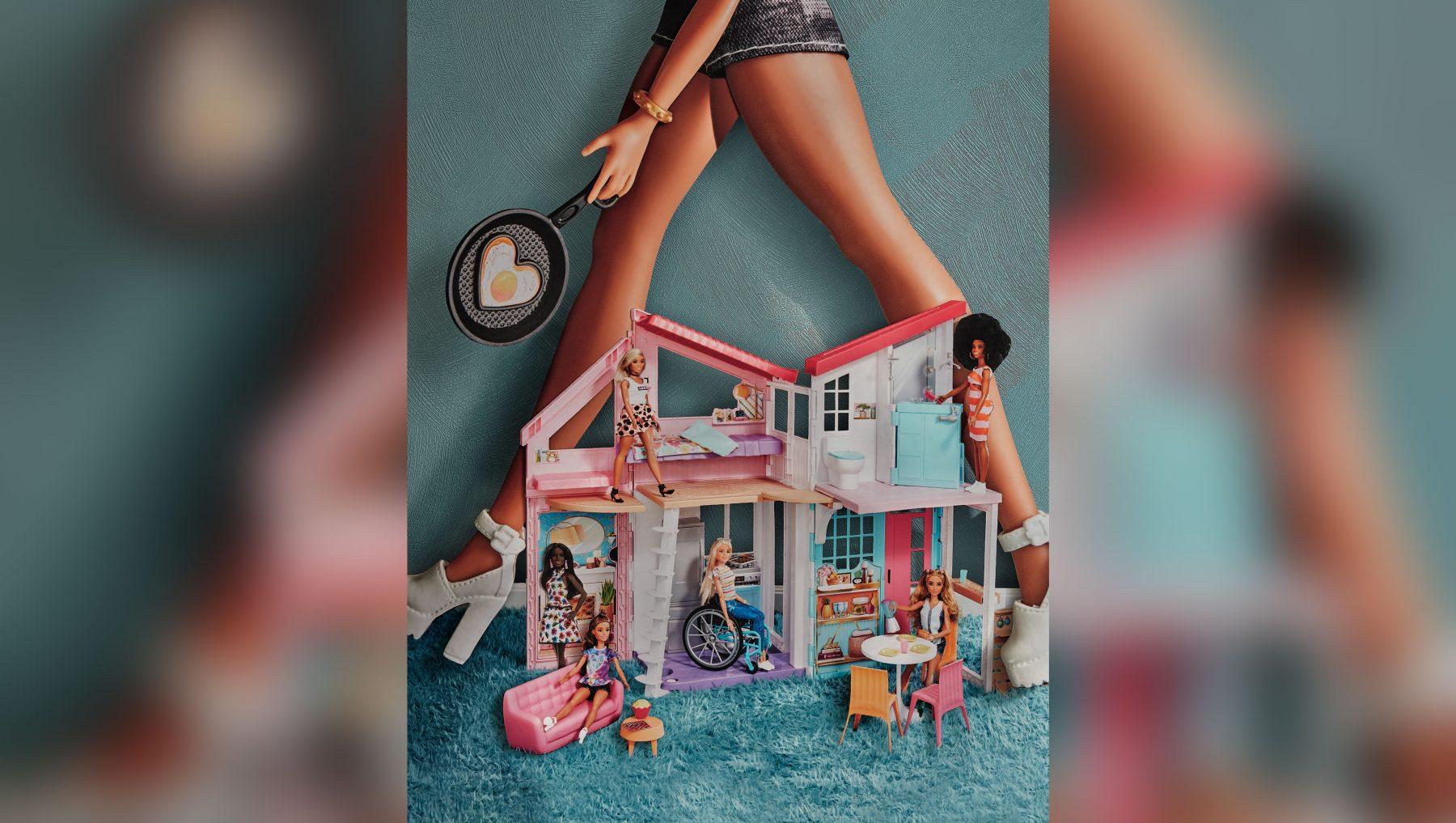Dit Barbie-poppenhuis is een feest voor je kind - en ook voor jou