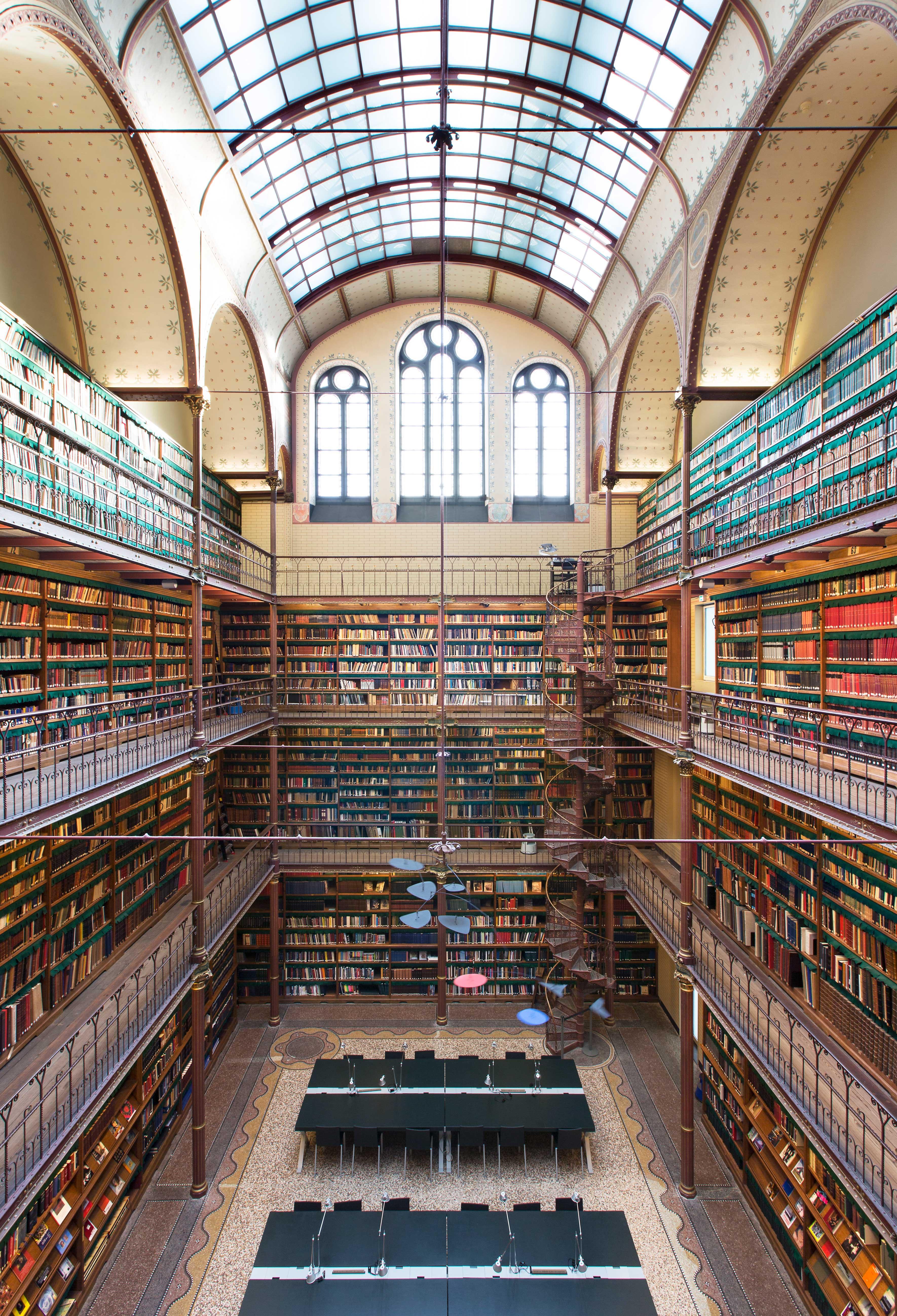 Kunsthistorische-Bibliotheek-Rijksmuseum