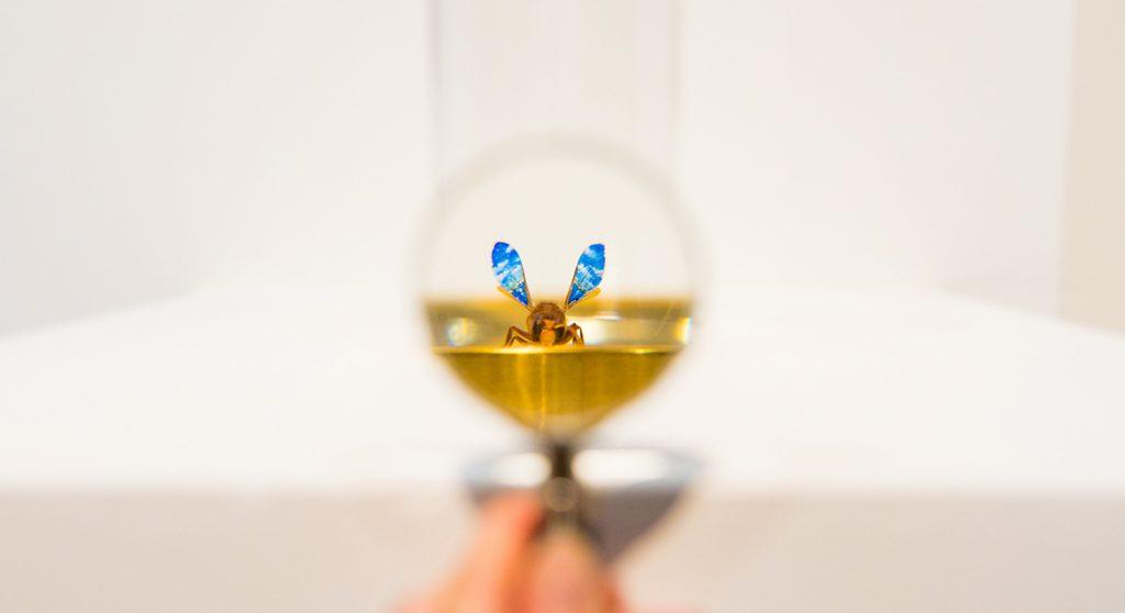Kleinste kunstwerken ter wereld micro art