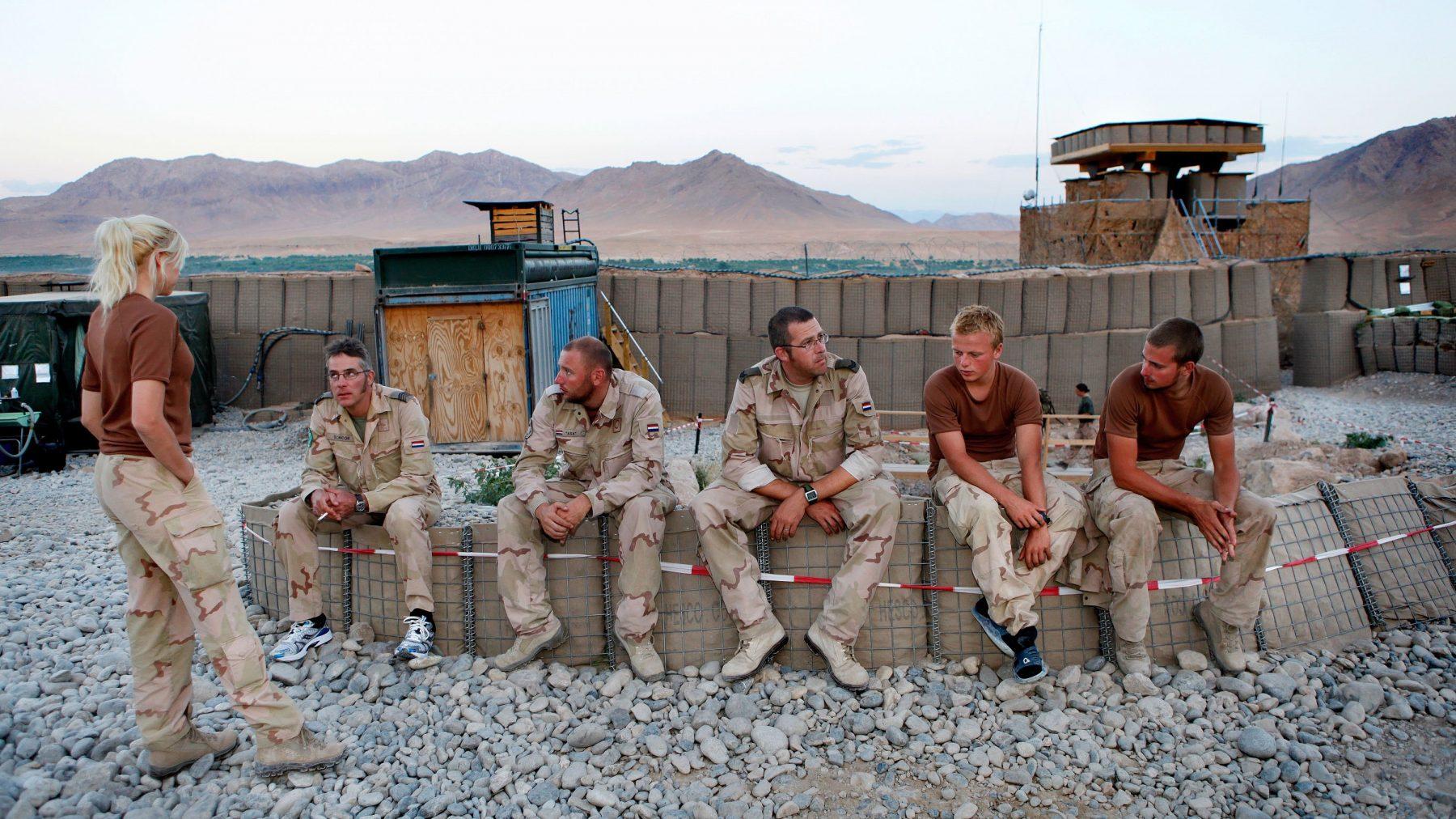 Veteranen dakloos door psychische problemen