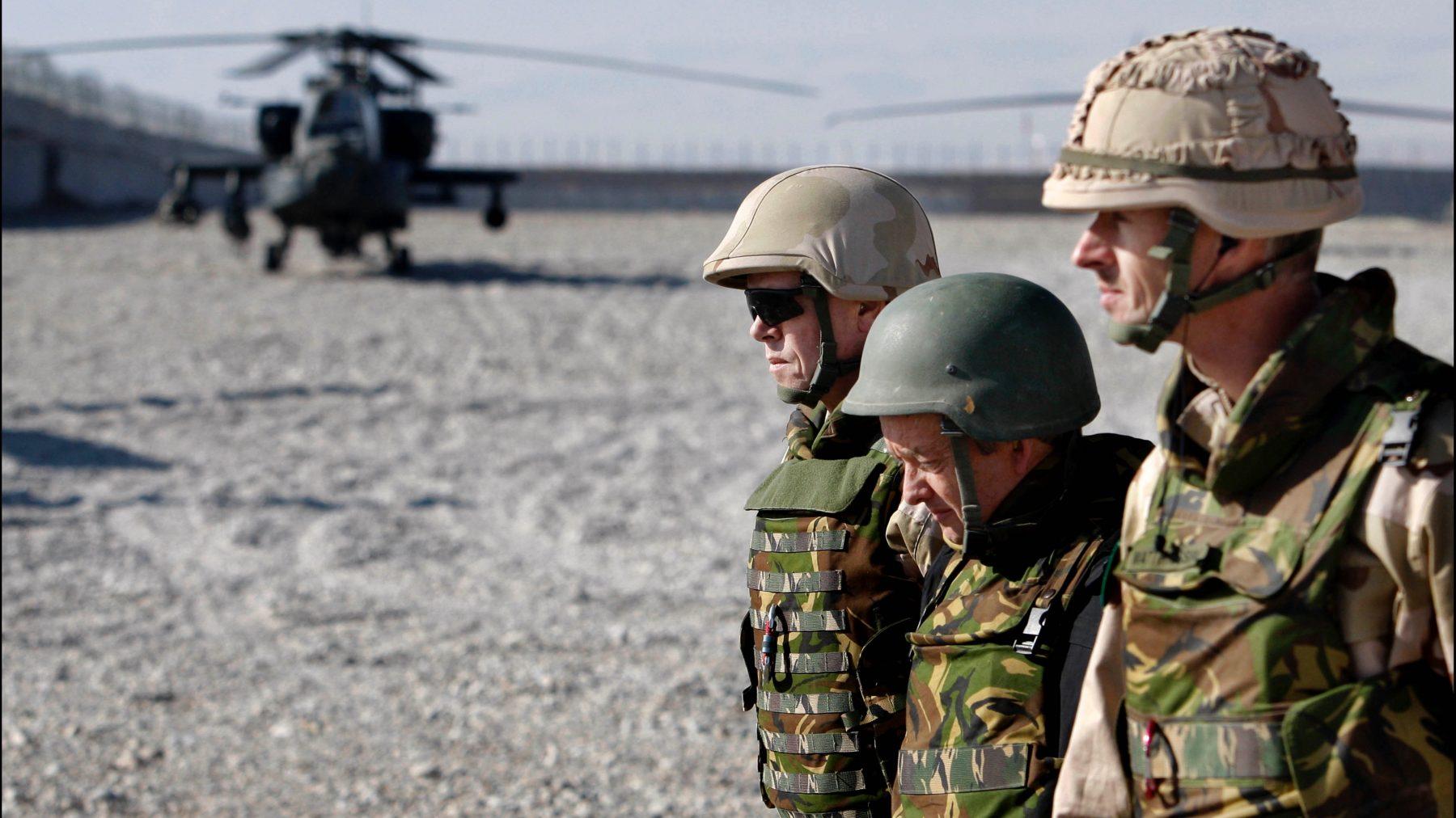 Veteranen op een veilige plek