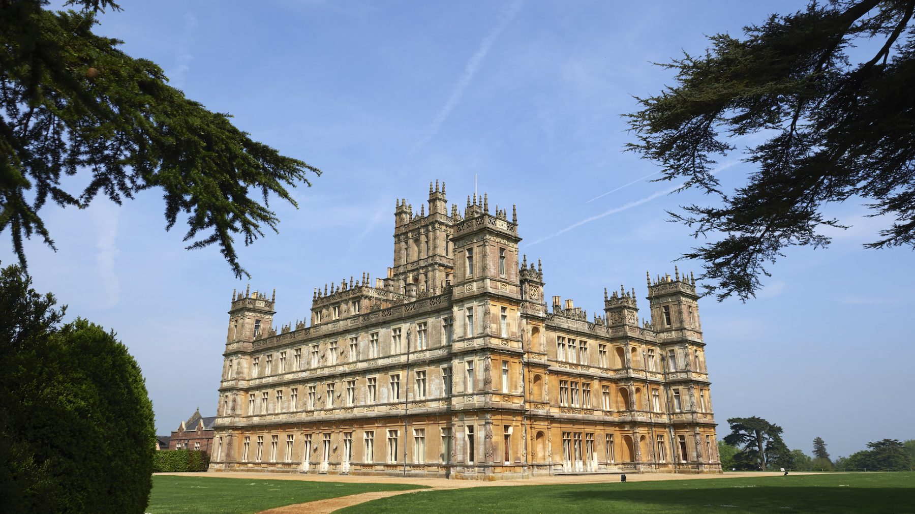 Downton Abbey Downton Abbey's Highclere Castle