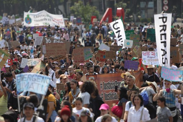 Global Climate Strike in Mexico City