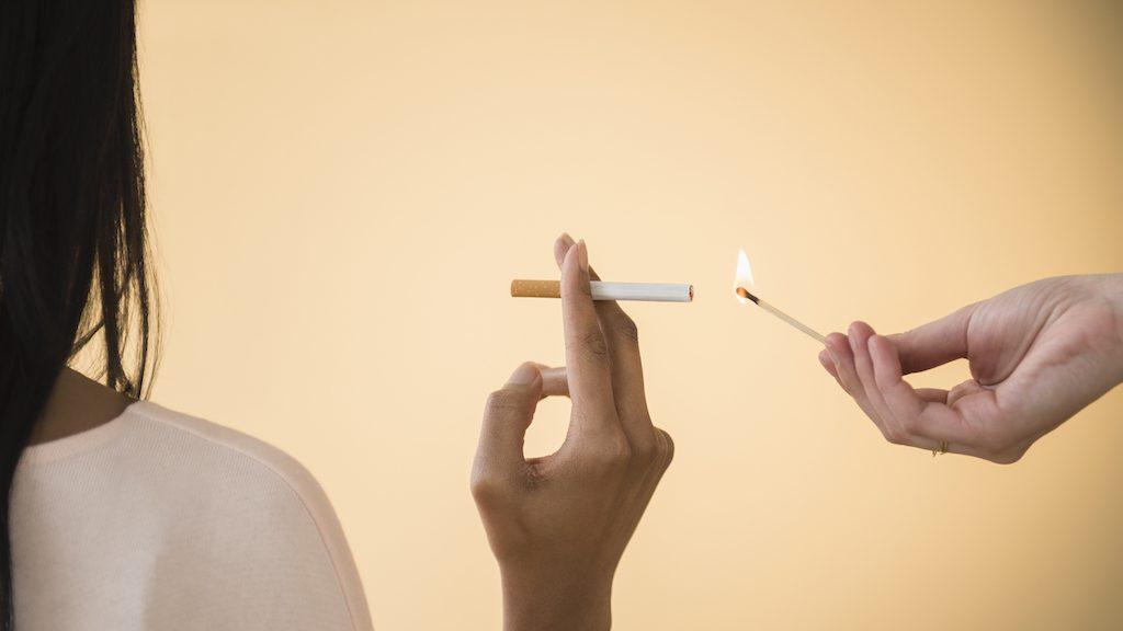 sigaretten in de ban tankstation