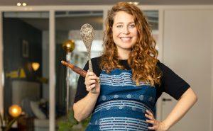 Thumbnail voor Sanne Vogel over veganistisch eten tijdens zwangerschap: 'Mijn gynaecoloog was er geen fan van'