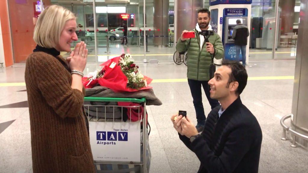 grenzeloos verliefd huwelijksaanzoek turkije