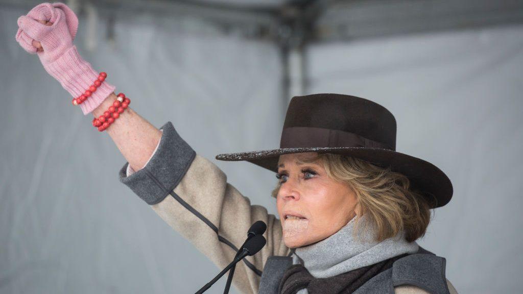 Jane Fonda arrestatie activist klimaat