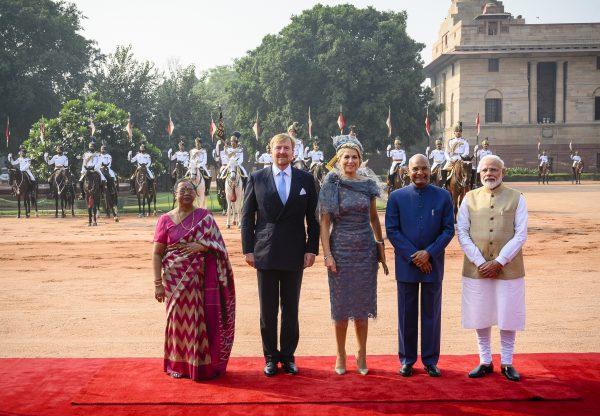 staatsbezoek India Willem-Alexander Máxima