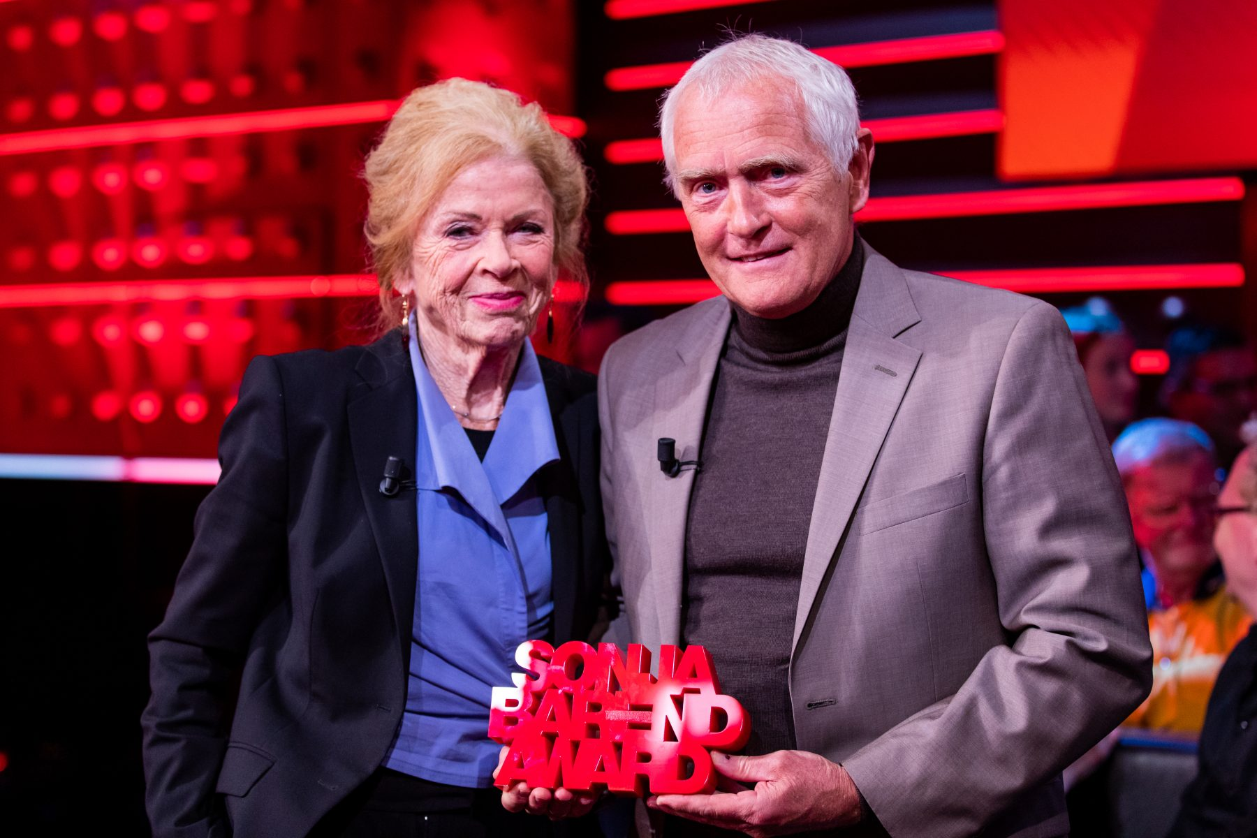 Sonja Barend Award Kefah Allush
