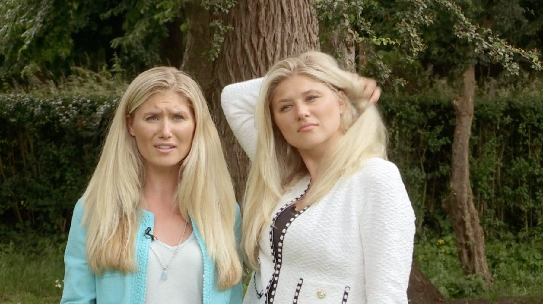 Rijke zussen in Steenrijk, straatarm