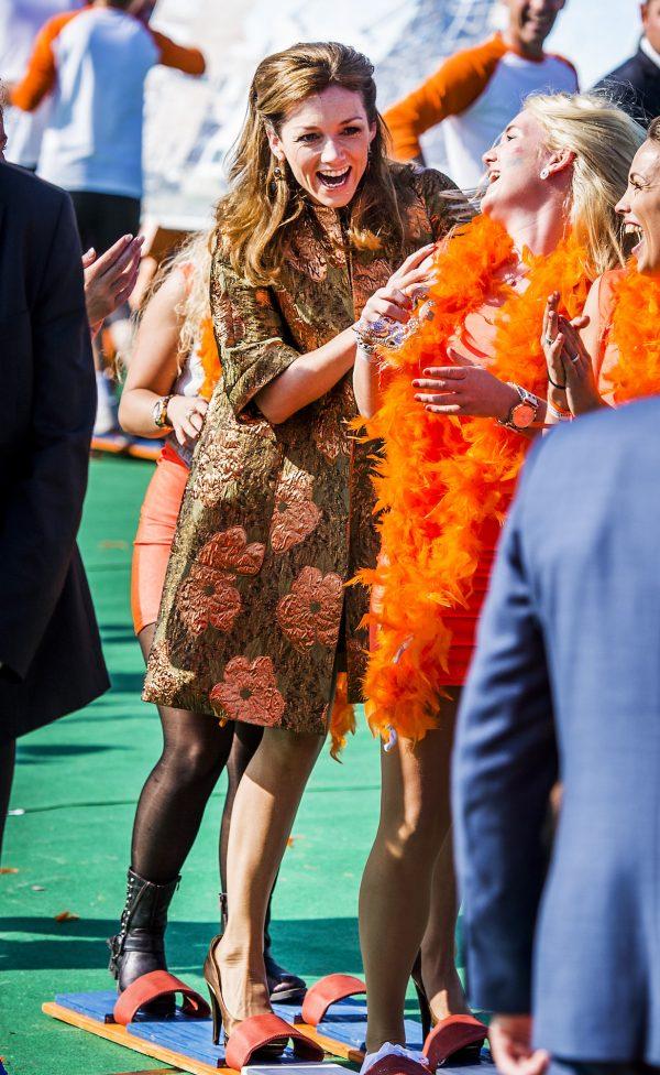 prinses tijdens Koningsdag 2014