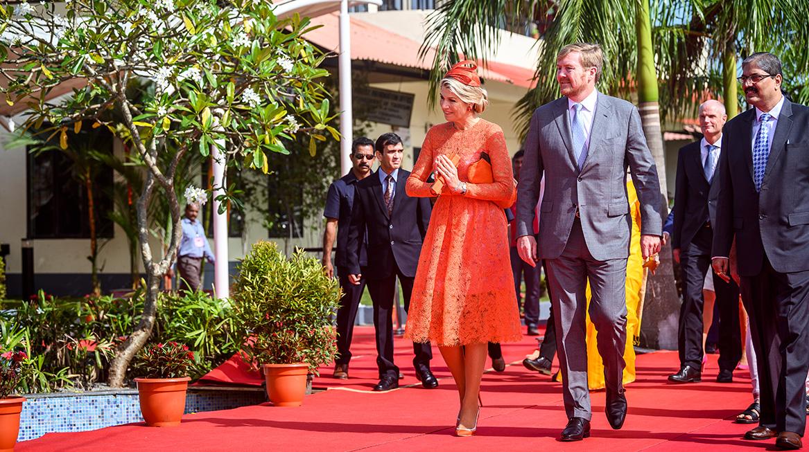 Laatste dag staatsbezoek India koninklijk paar
