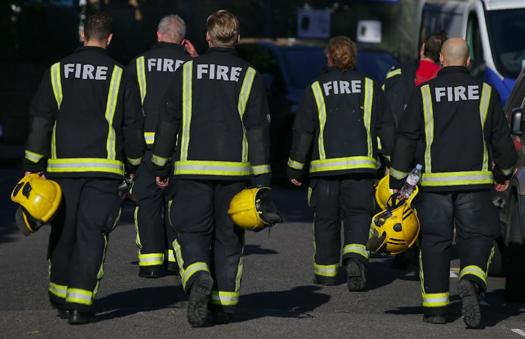 brandweer grenfell rapport