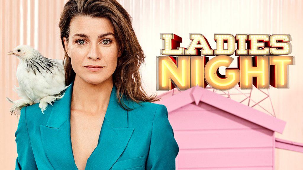 Jennifer Hoffman Bibian Mentel Ladies Night