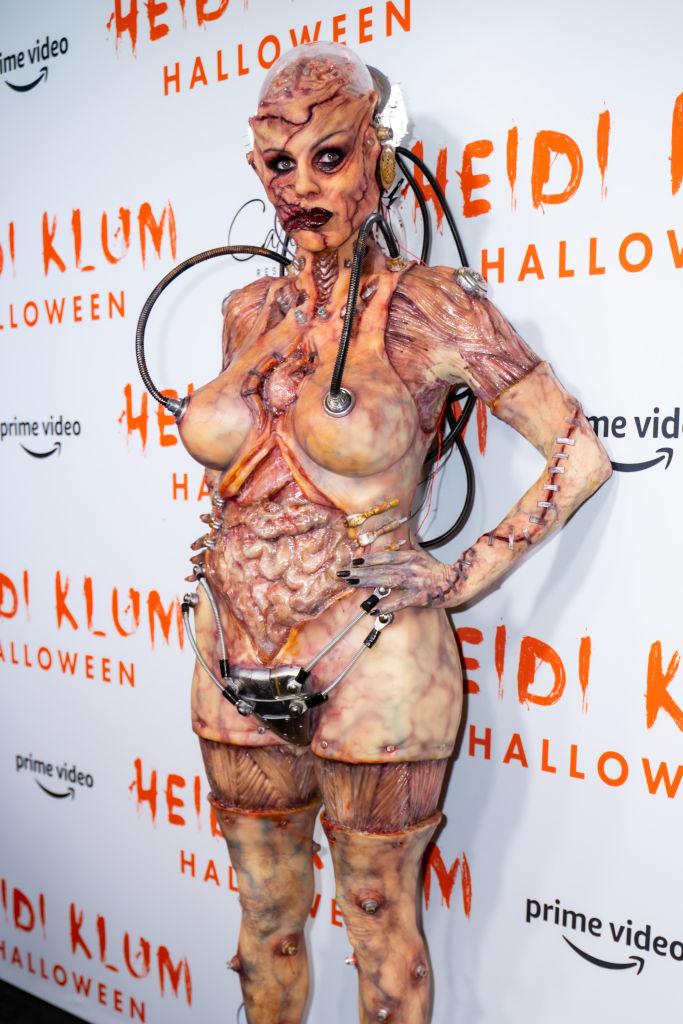 Heidi Klum Halloween kostuum