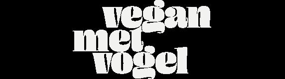 Vegan met Vogel logo
