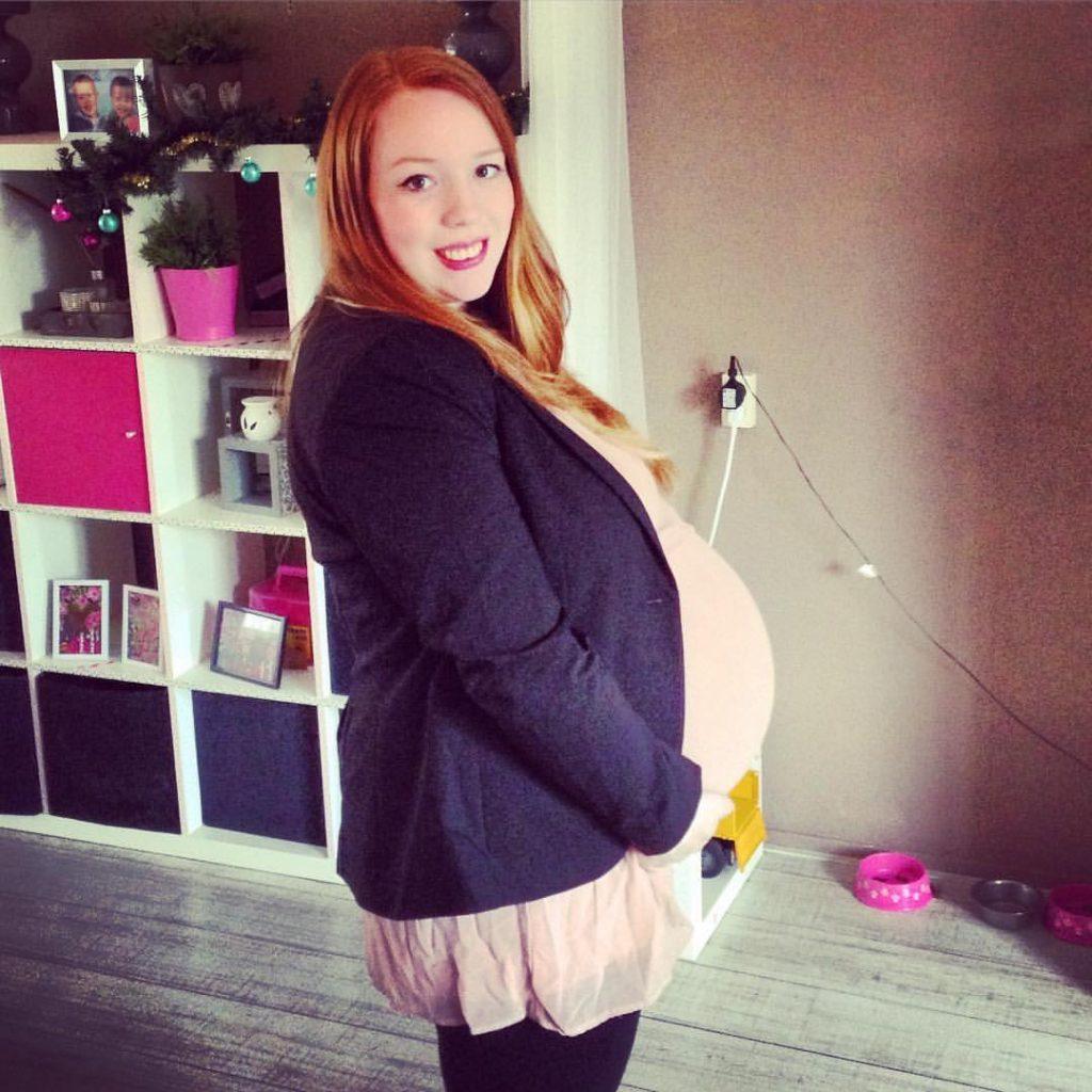 Lorien 35 weken zwanger