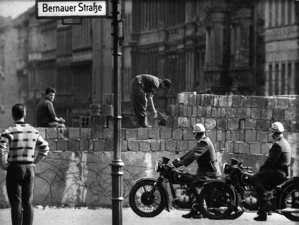bouw Berlijnse muur