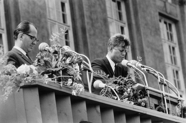 Kennedy Berlijnse Muur