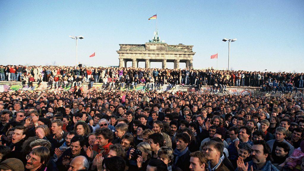 Val berlijnse muur