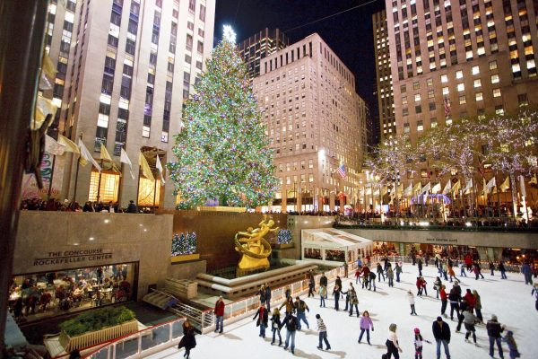 grootste kerstboom New York