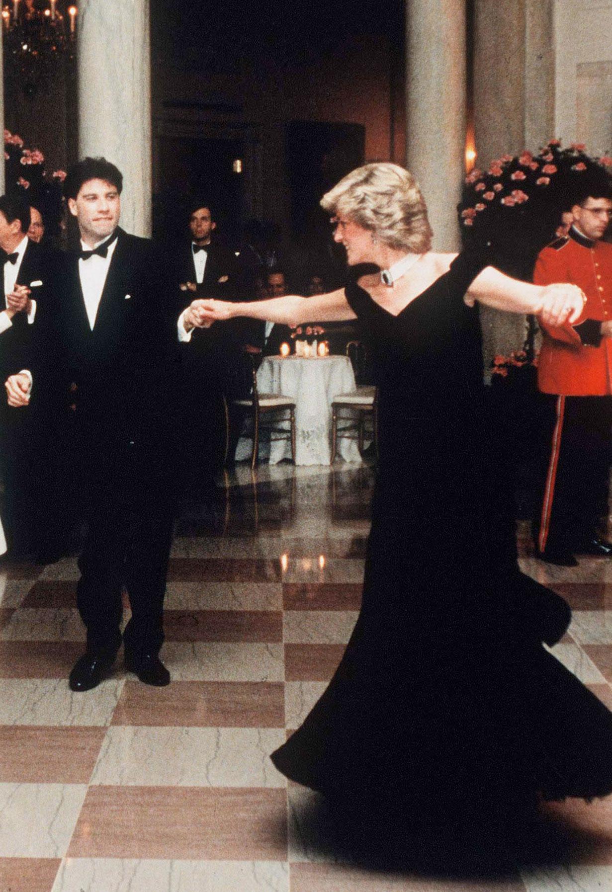 JohnTravolta-Prinses-Diana-dansen-Witte-Huis-gala-1985