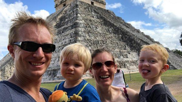 Wegtrekkers: Irene is fulltime op reis met haar man en zoons (3 en 4)