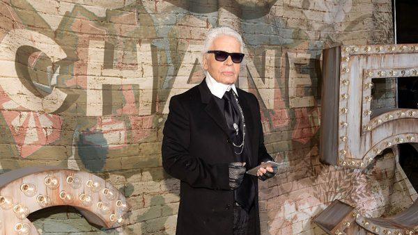Karl Lagerfeld is overleden in 2019, foto Getty Images.