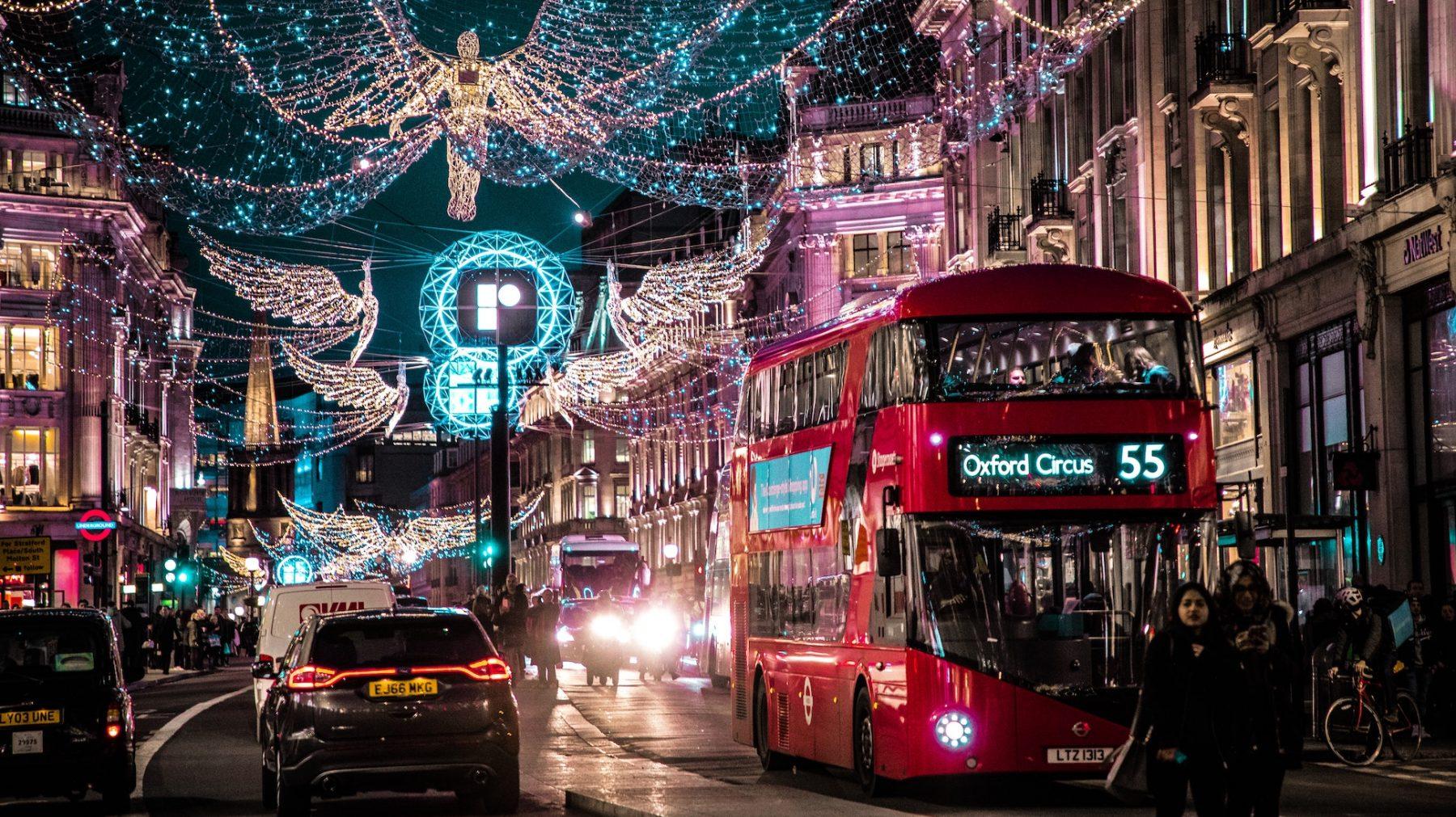 Lichtjes in Londen