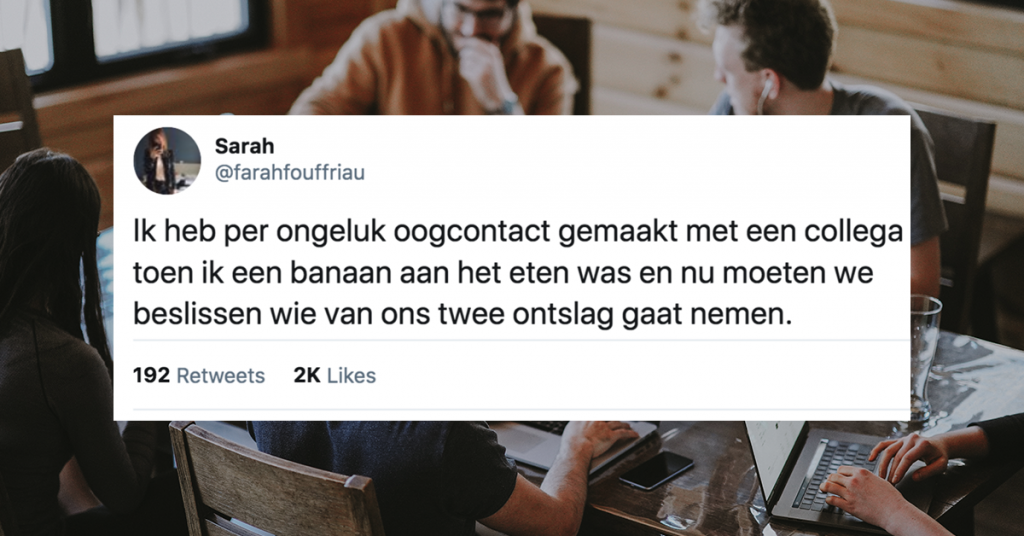 collega's the best social media oogcontact