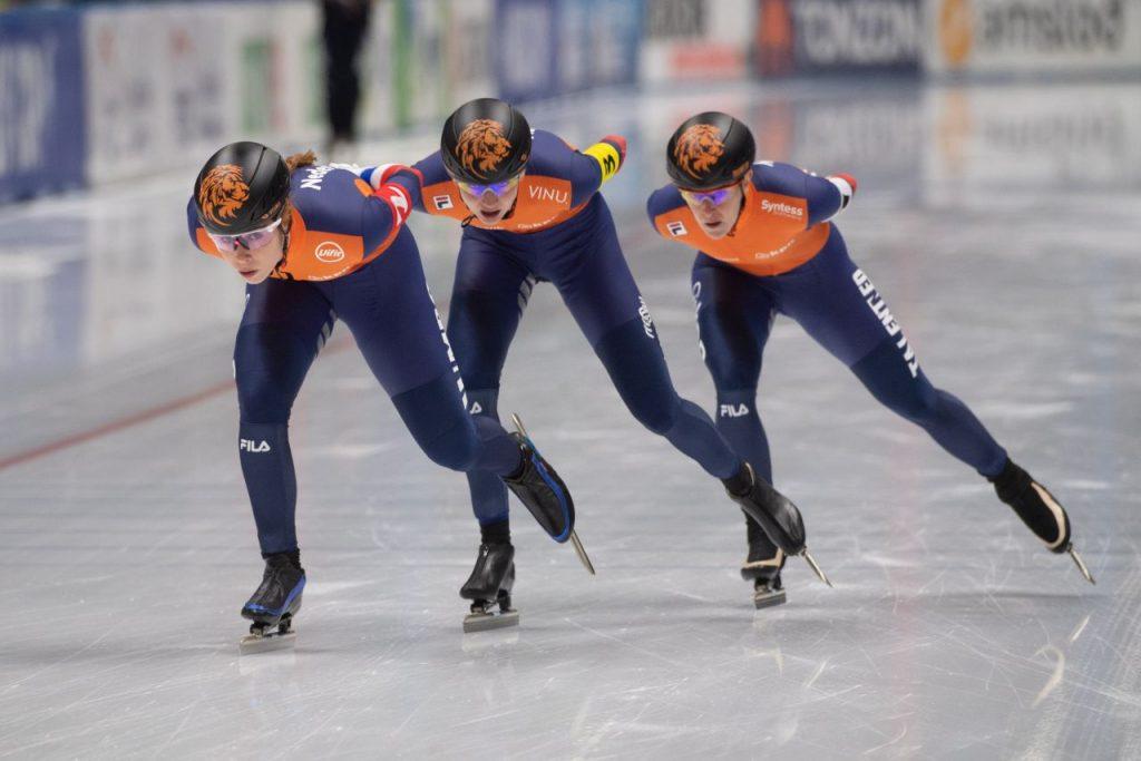 schaatsen wk ploegachtervolging
