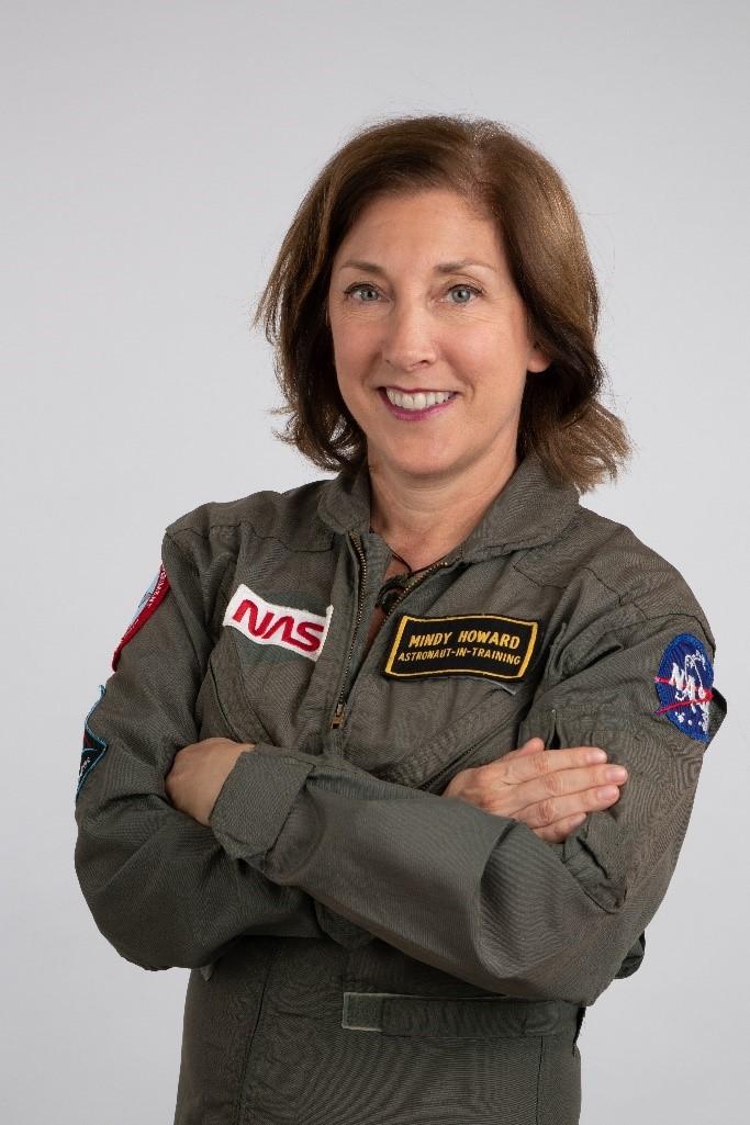 Ruimte Mindy Howard astronaut