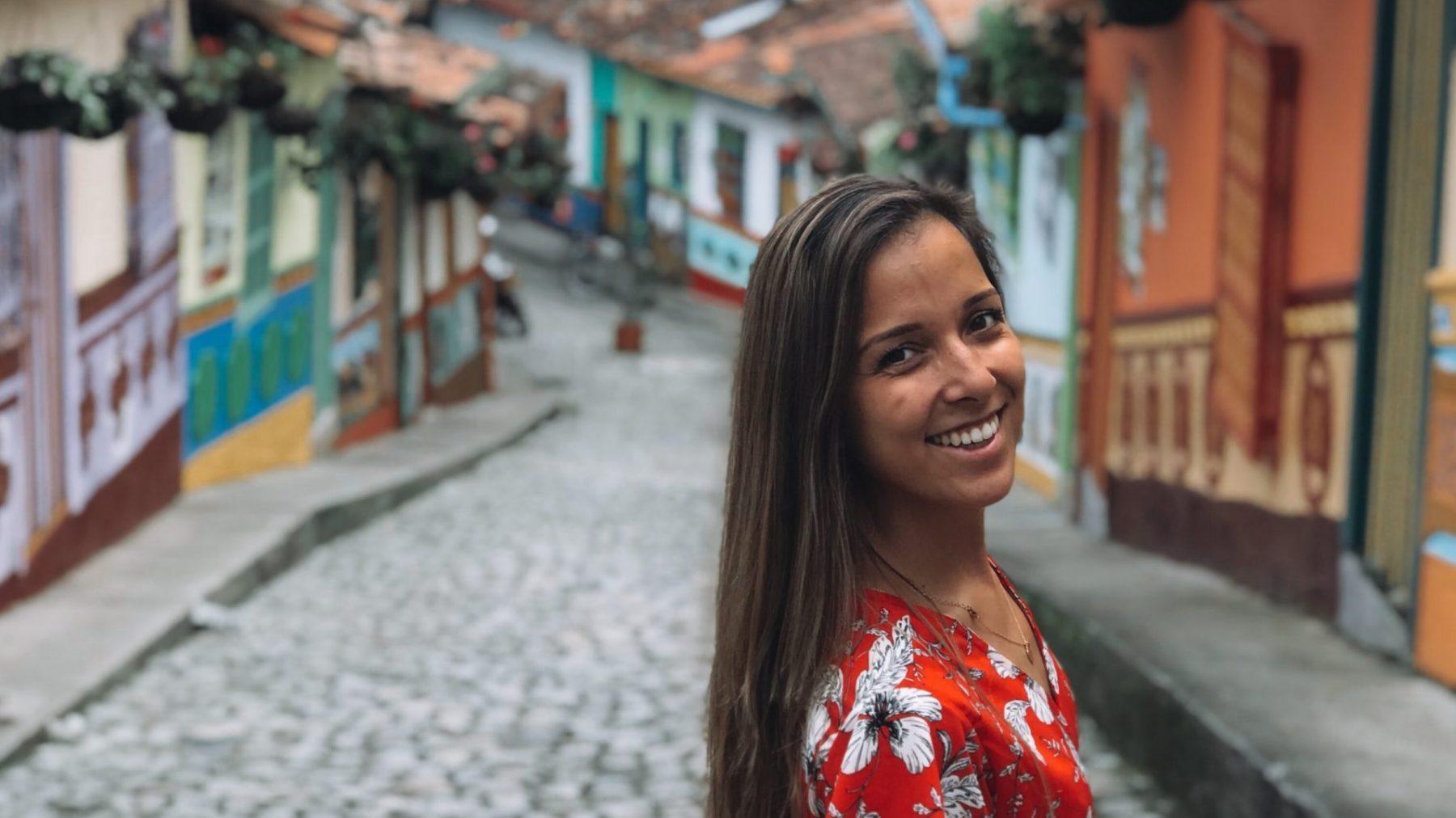 Wegtrekkers: Mandy (28) reist werkend de wereld over