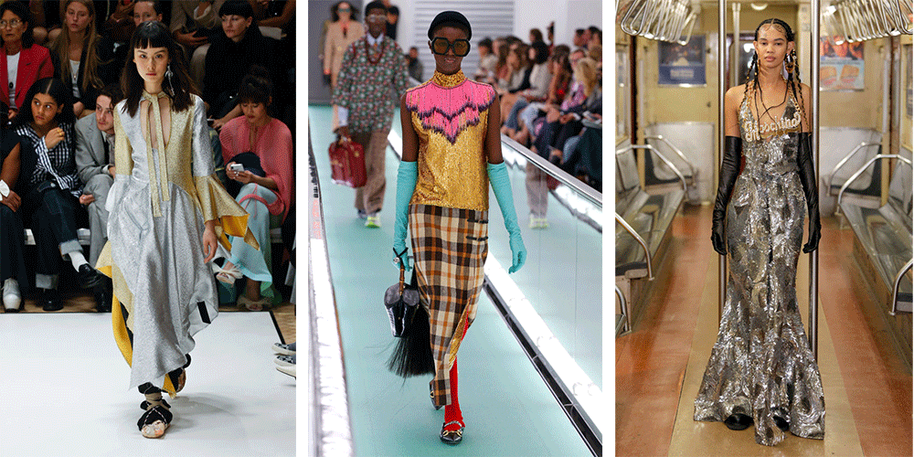 Тенденция 2020 металлик модные тенденции