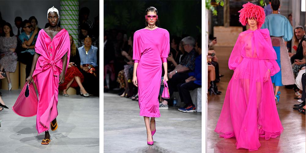 ярко-розовый станет модным трендом в 2020 году