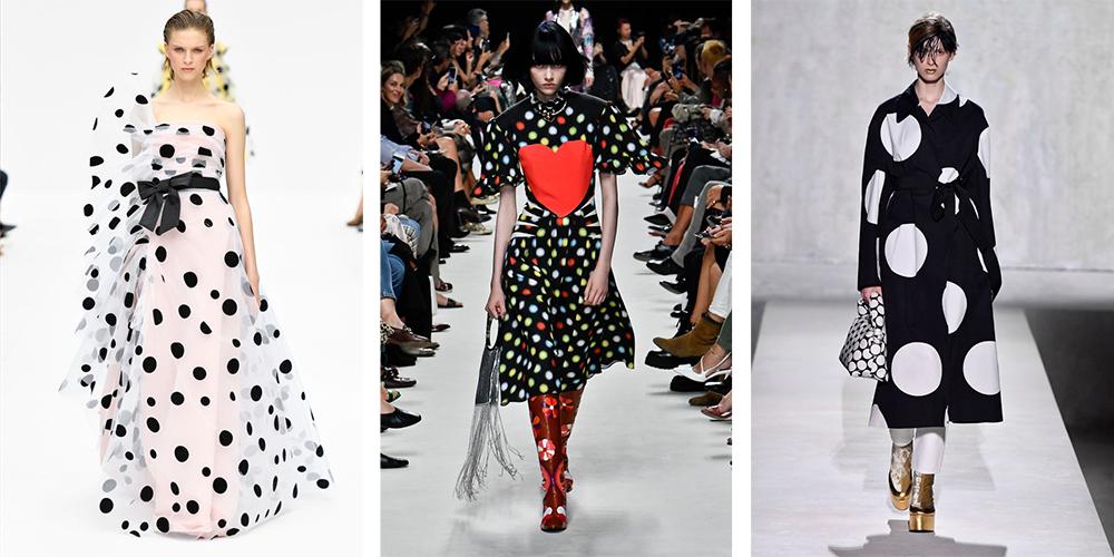Полкадоц-Модные тенденции-2020