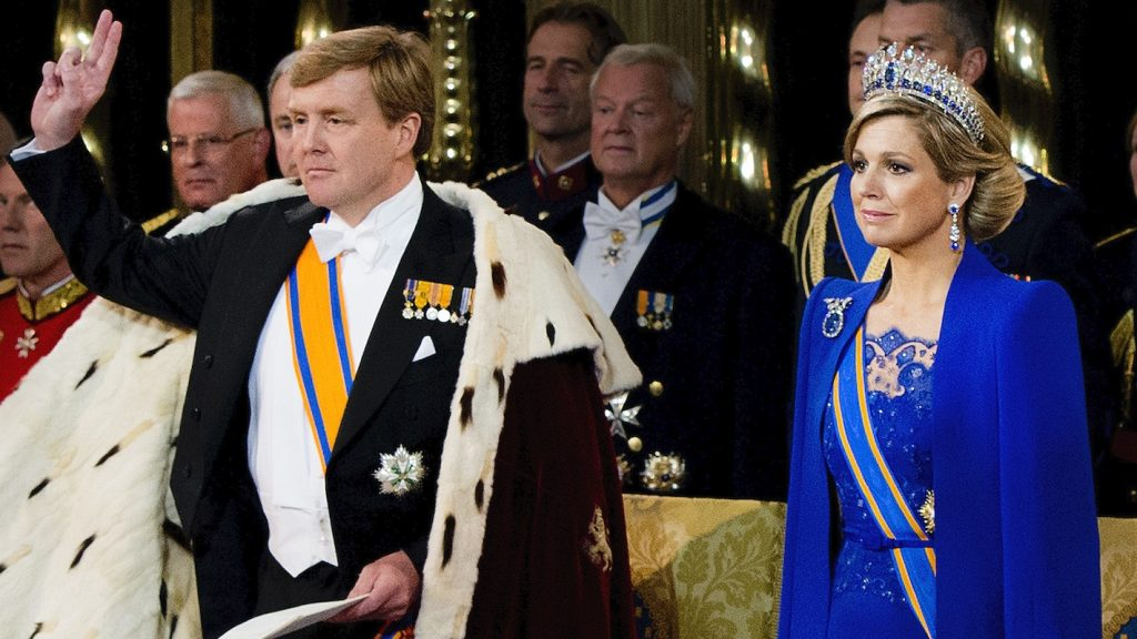Willem-Alexander Maxima inhuldiging