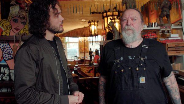 Henk Schiffmacher ruilde een nijlpaardenschedel voor een tattoo