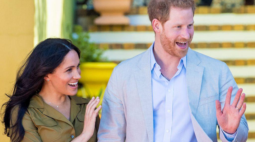 Britse en sociale media in de ban van Sussexit Prins Harry en Meghan