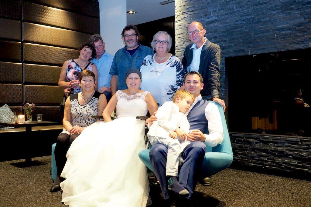 bruiloft Jaime terwijl ze kanker had