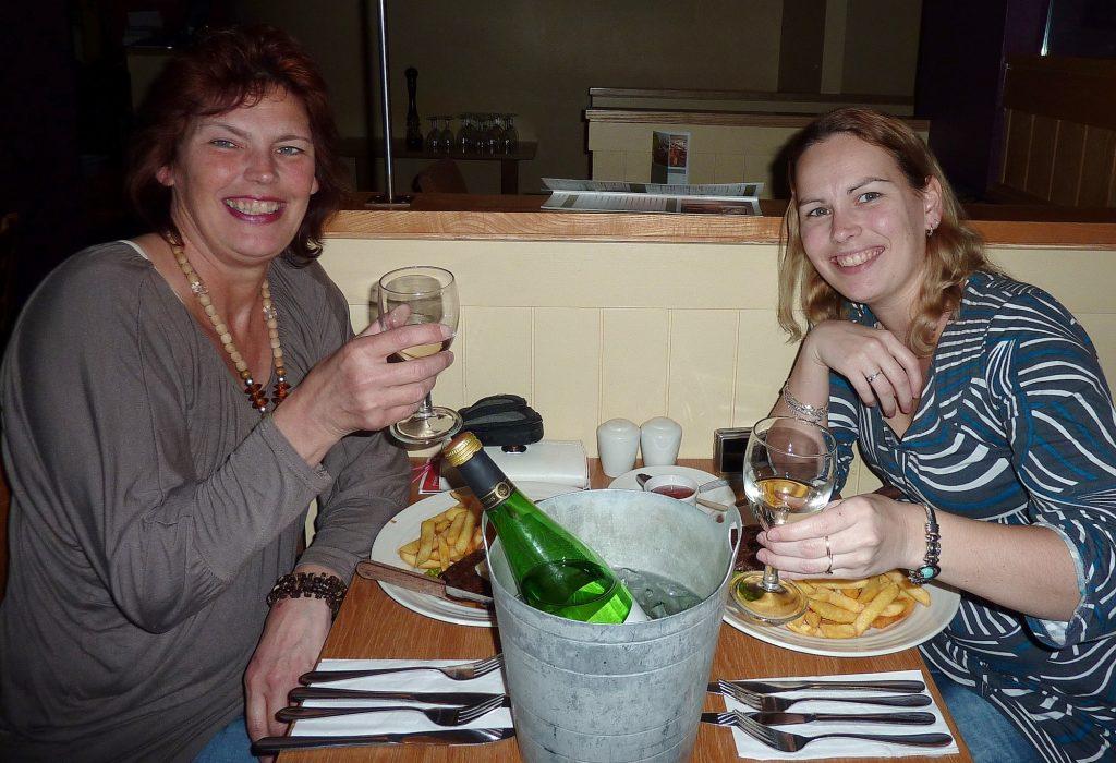Moeder Lia en dochter Jaike