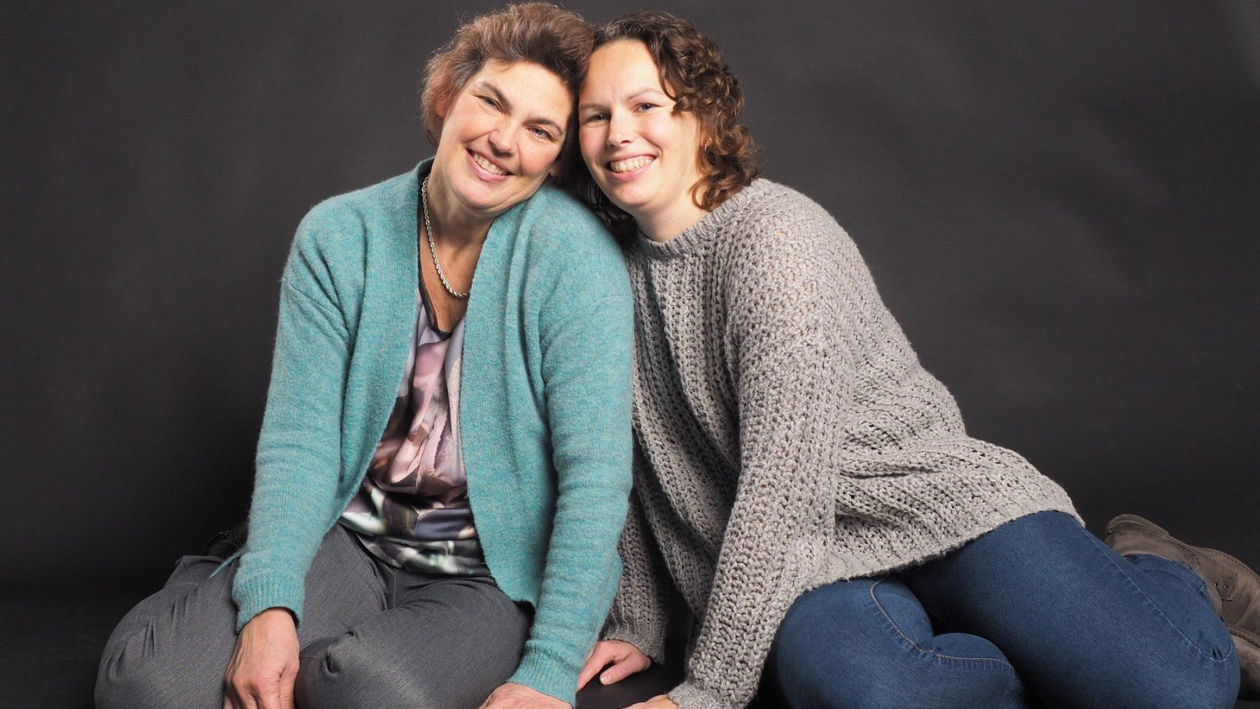 Lia en haar dochter Jaike, overleden aan kanker