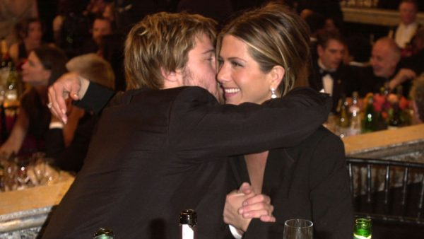 Brad Pitt Jennifer Anniston SAG Award