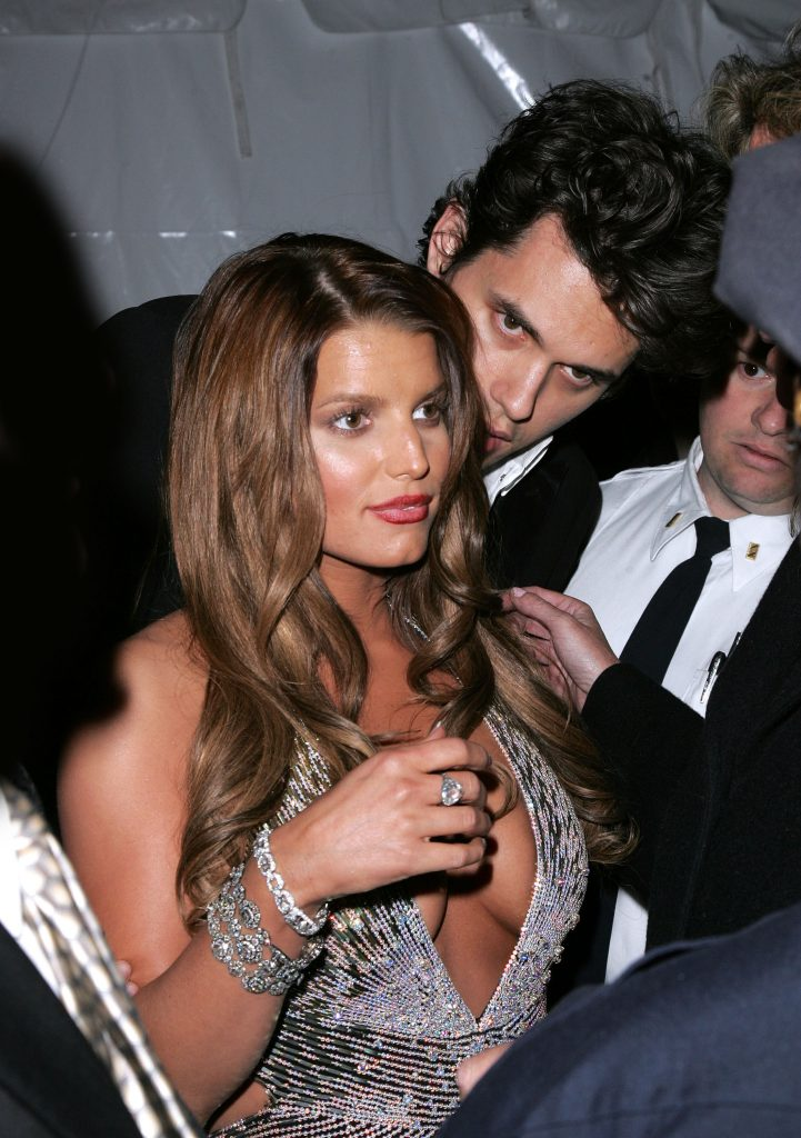Jessica Simpson en John Mayer