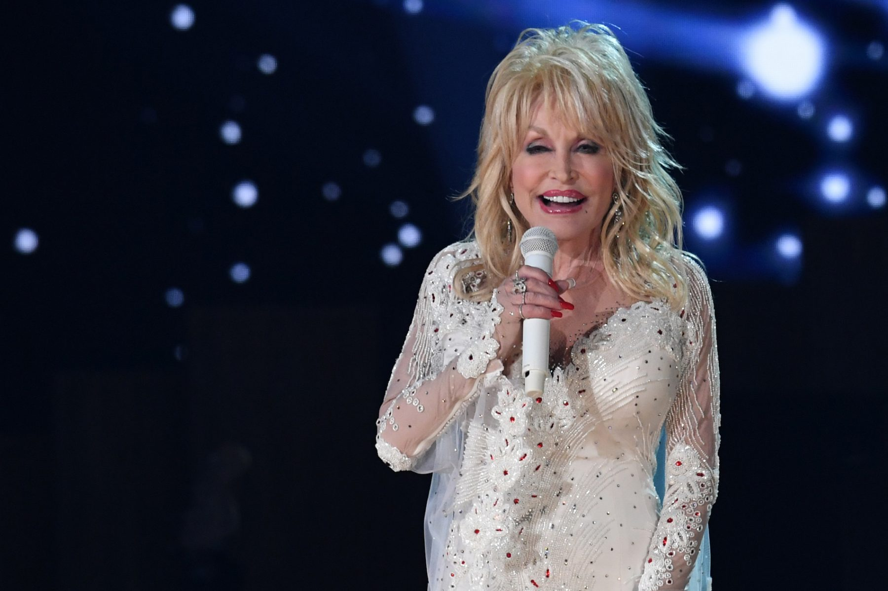 What the hashtag/ Country-wereldster Dolly Parton (74) gaat viraal